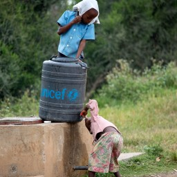 Bringing safe water to children in Burundi