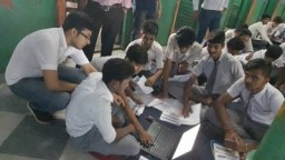Management students mark UN World Youth Skills Day by helping underprivileged children