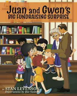 Stan Levenson's first multicultural children's book about fundraising
